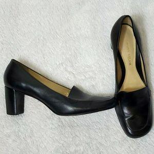 Antonio Melani Leather Business Heel Shoe